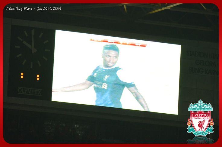 Sterling makes 2 - 0 on 87'  #LFCTourJakarta #YNWA #RedsOrDead