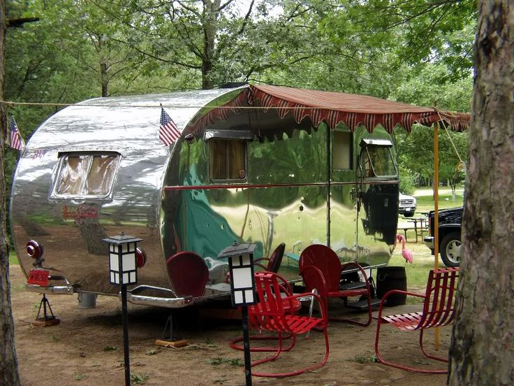 This baby was so lovingly restored...and looks to me like it promises many a dream camping trip!