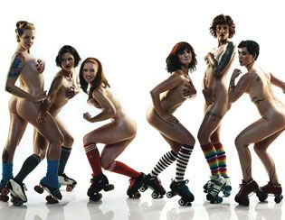 The Philadelphia Roller Girls and Their Heavenly Bodies