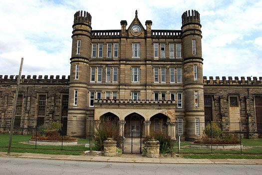 West Virginia Penitentiary, Moundsville, USA