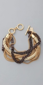: Gold Chains, Chains Bracelets, Ropes Bracelets, Chunky Chains, Gold Bracelets, Cute Bracelets, Cognac Chains, Accessories, Mixed Metals