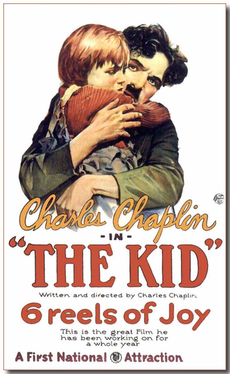 """THHE KID"". (1924) CHARLIE CHAPLIN (SILENT MOVIE)"