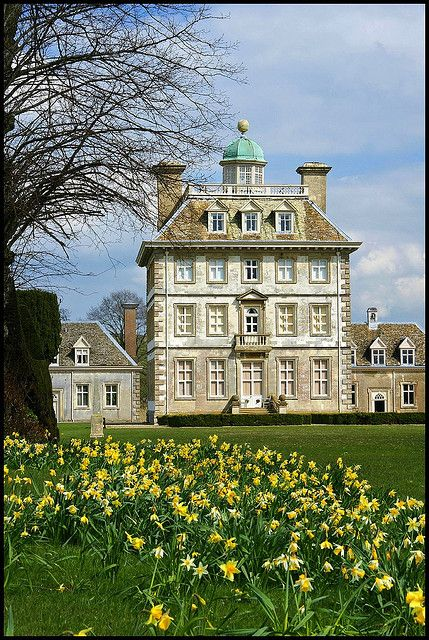 Ashdown House in Berkshire, UK by Tom Saunders - Built by Earl William Craven for the Queen he loved, Queen Elizabeth of Bohemia in 1662.