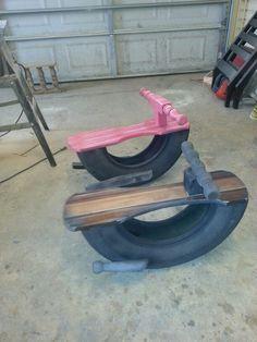 Repurposed tires