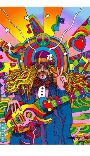 see the music copyright howie green Connecting to my Design period, this shows themes associated around the Pop Era (love, music, peace) Elements: Color, Shape, Point Principles: Hierarchy, Ground,                                                                                                                                                      Más