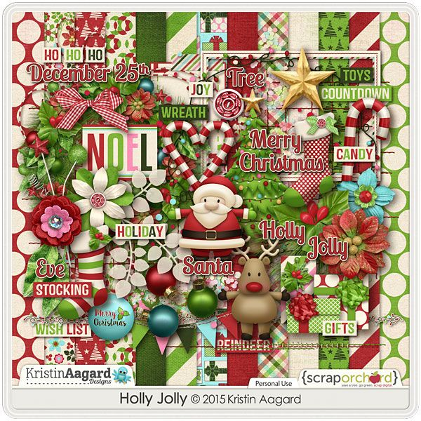 Holly Jolly by Kristin Aagard Designs