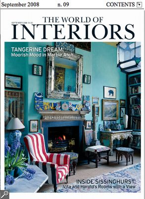 The World of Interiors    September, 2008
