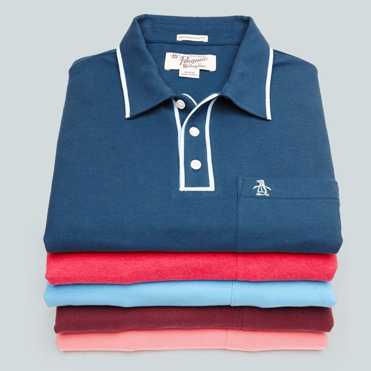 Get your Original Penguin polo fix.