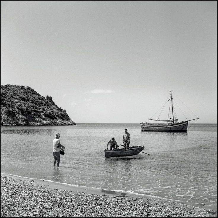 Robert McCabe αιγαιοπελαγίτικα καΐκια της μεταπολεμικής Ελλάδας