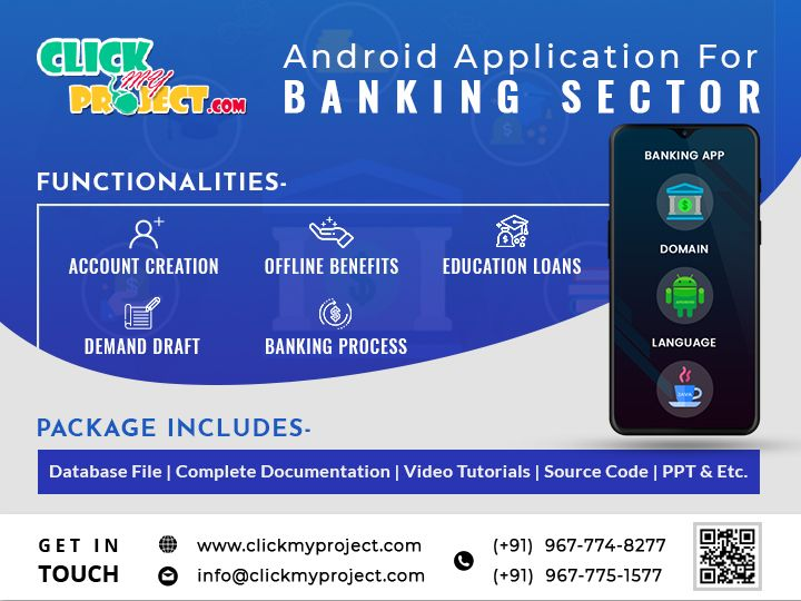 Buy Android Application Project For Your Final Year at