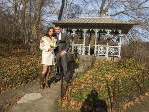 A Winter Wedding in Central Park