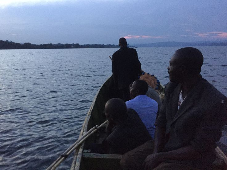 Night fishing around Lake Victoria