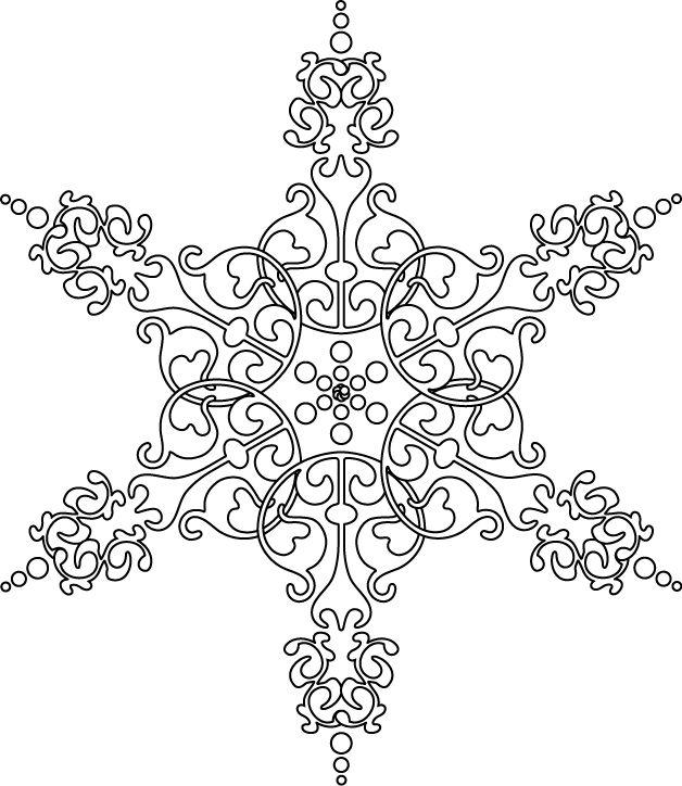 Les 25 meilleures id es de la cat gorie motif de flocon de neige sur pinterest motifs de - Flocon de neige en papier a imprimer ...