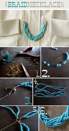 diy,  necklace making,  necklace tutorial