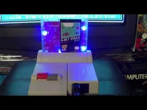 8-BIT XMAS 2012 ON THE NES TOPLOADER REVIEW AND GAMEPLAY