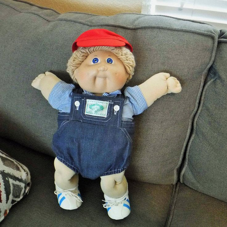 Vintage Cabbage Patch Kid 1985 Boy Doll, Xavier Roberts, Light Hair Cabbage Patch Kids,Original Clothes,Original Appalachian Artworks Coleco by BeautyMeetsTheEye on Etsy