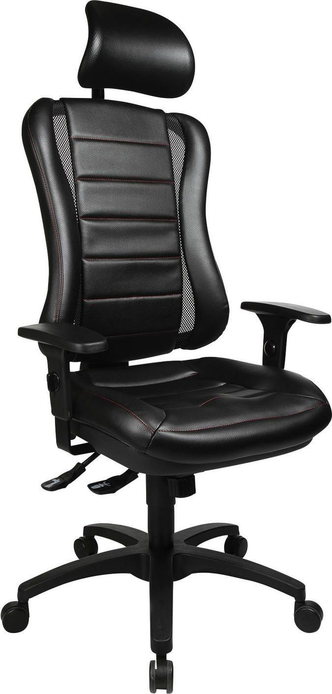 Chefsessel In Lederlook Schwarz Alufarben Online Kaufen Xxxlutz Schreibtischsessel Sessel Burostuhl