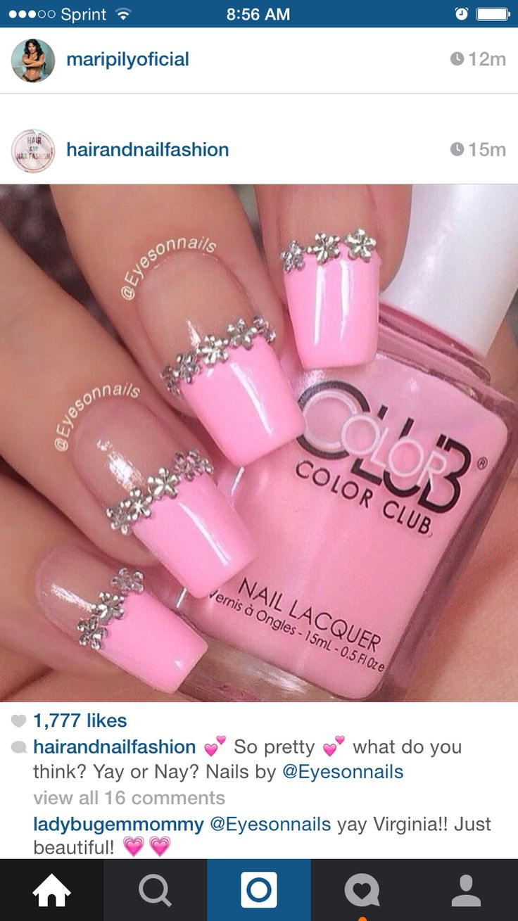 97 best Nails images on Pinterest | Nail scissors, Blue nails and ...