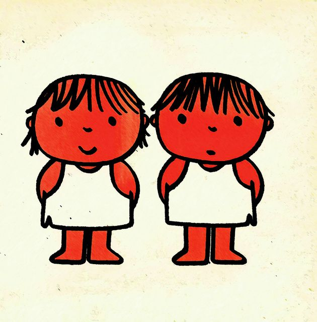 Je m'habille tout seul - Dick Bruna, 1978  I loved the MIffy books growing up!!!