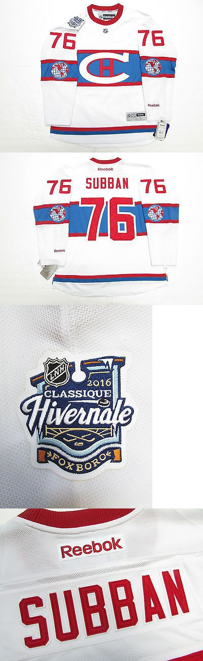 Men 159122: P.K. Subban Montreal Canadiens 2016 Nhl Winter Classic Reebok Jersey With Patch -> BUY IT NOW ONLY: $109.99 on eBay!