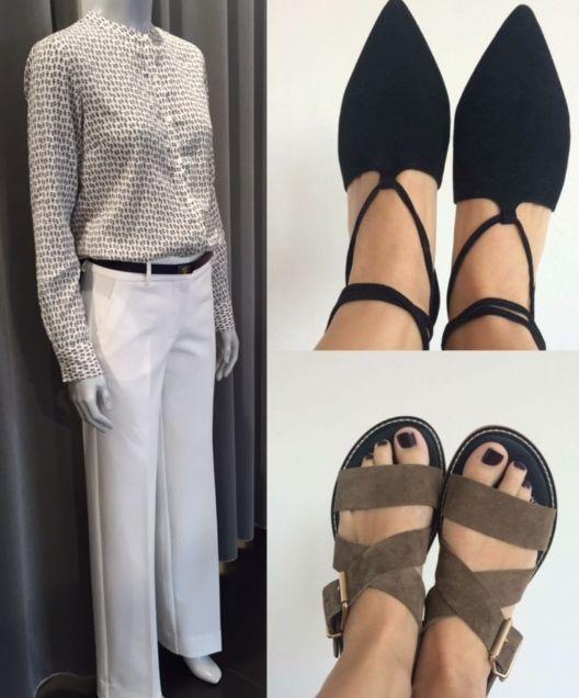 Must have... Nyt bukse look ... Tid til sandaler og lette sko uden strømper. Nyd dagen FLOT