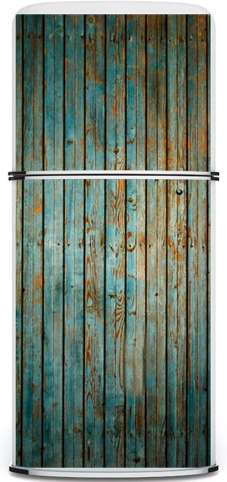 Flaking Wood Large Fridge Door Magnets by kudu magnets