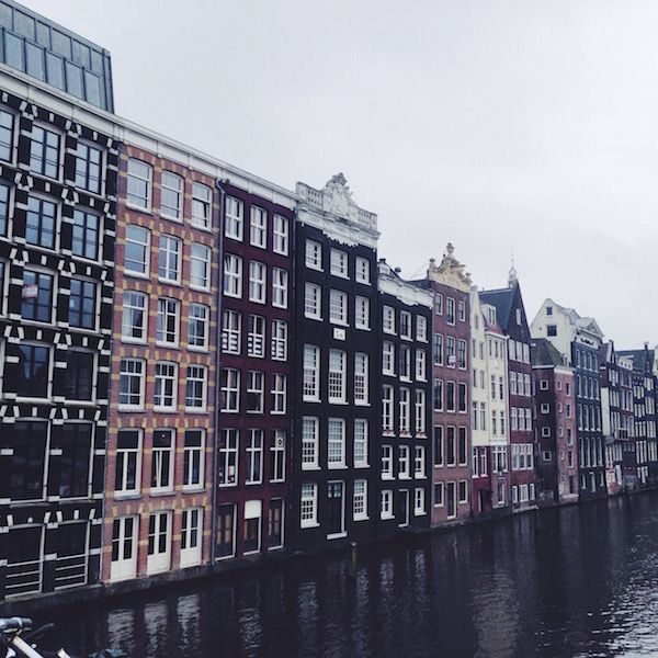Buildings along Amsterdam Canal