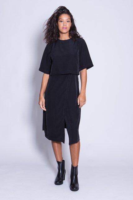 Dress Ru Black