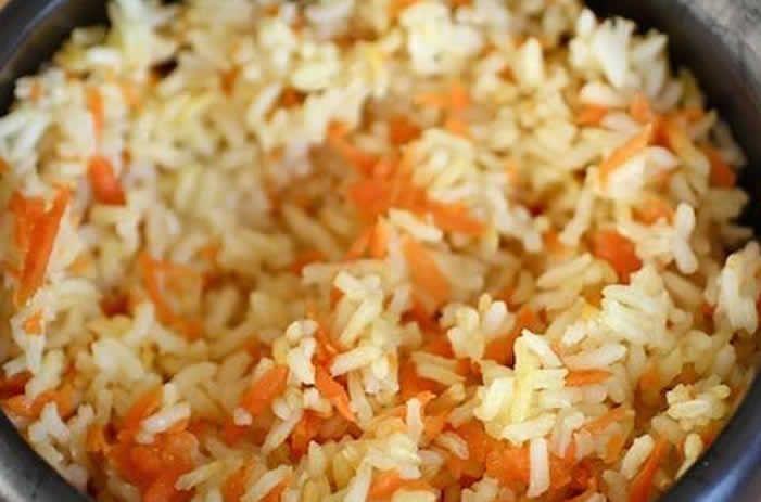 Riz et carottes aux épices avec cookeo