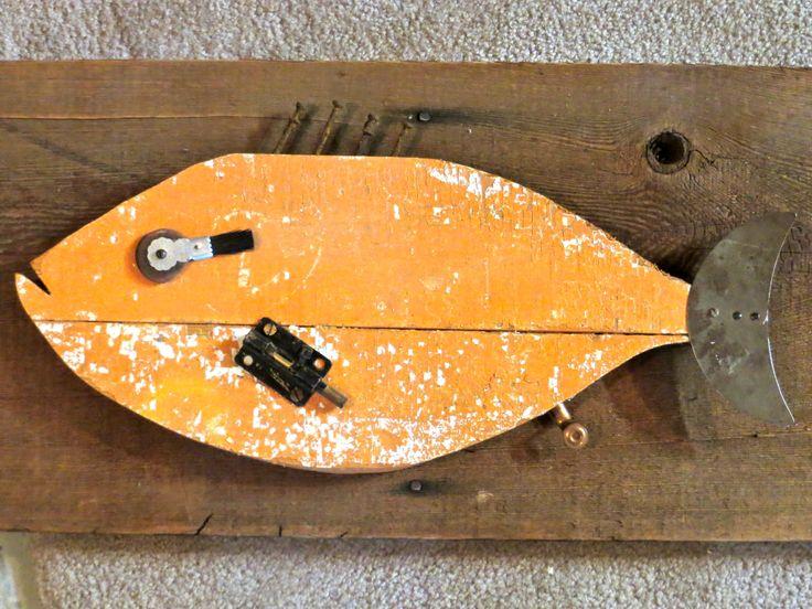 My latest folk art fish