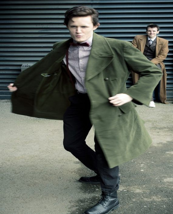 Doctor Who 11th Doctor Green Coat (5)
