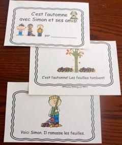 GRATUIT! Petit livre avec mots fréquents et structures de phrases simples qui permet de pratiquer les sources d'information visuelle, de structure et de sens! Stratégies importantes!!