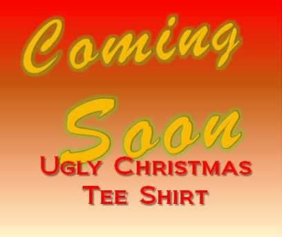 Funny Christmas Tee Shirt Ugly Sweater Style by DarylArtDigital