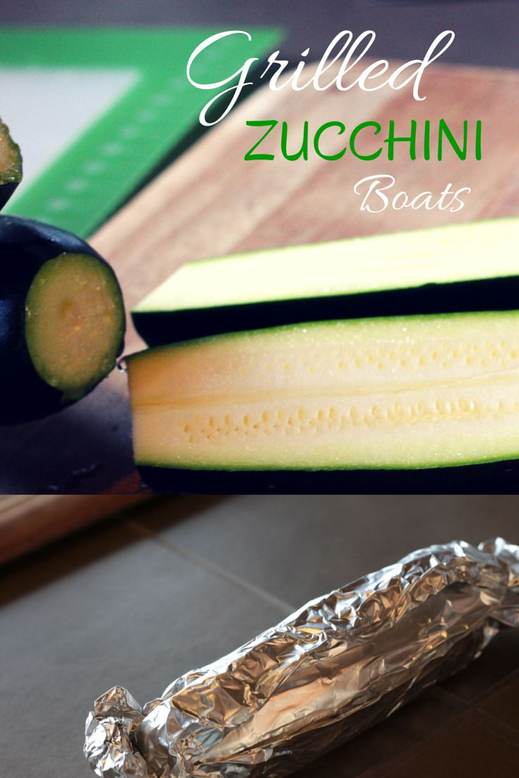 Grilled Zucchini Boats