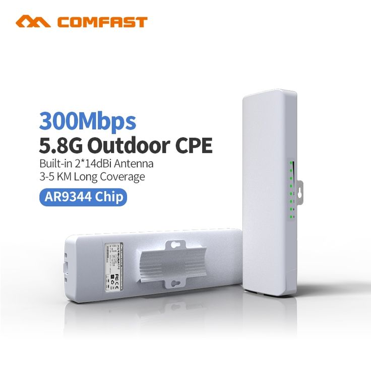 59.63$  Watch here  - AR9344 COMFAST Outdoor CPE 5.8G wireless Router AP 300mbps Wifi Access Point Router Wi Fi Repeater Signa Amplifier nano station