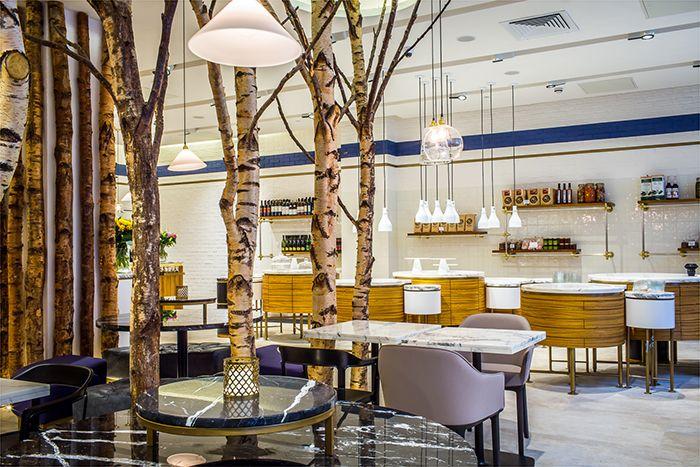 Ethos London #buffet #selfservice #freeflow #interiordesign #diseño #restaurants