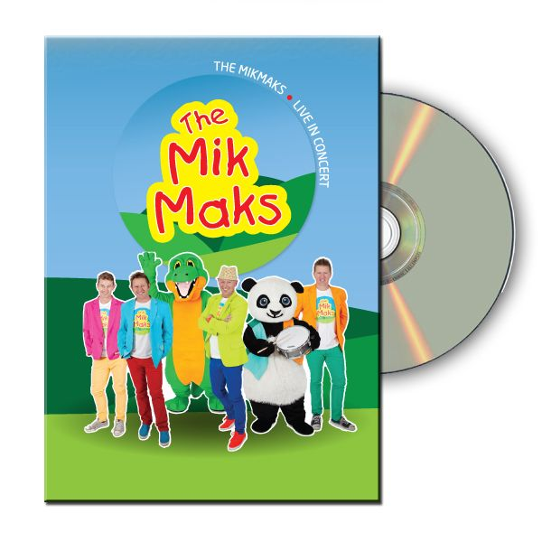 """Sing & Dance along with The MikMaks....  Brothers Brian, Joel, Alan and Dean McInnes together with their good friends """"Drums"""" the Panda and """"Bruce"""" the hairy crocodile have enormous fun performing their quirky songs for children and adults!! Fun filled & Colourful.."""