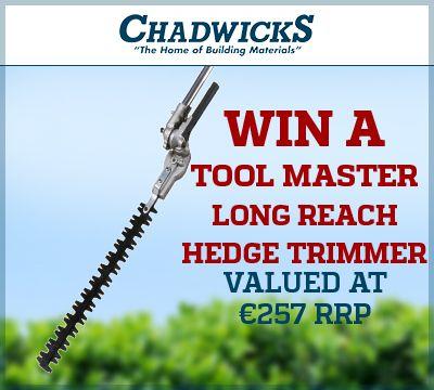 Chadwicks Kilkenny - Win a Long Reach Hedge Trimmer!