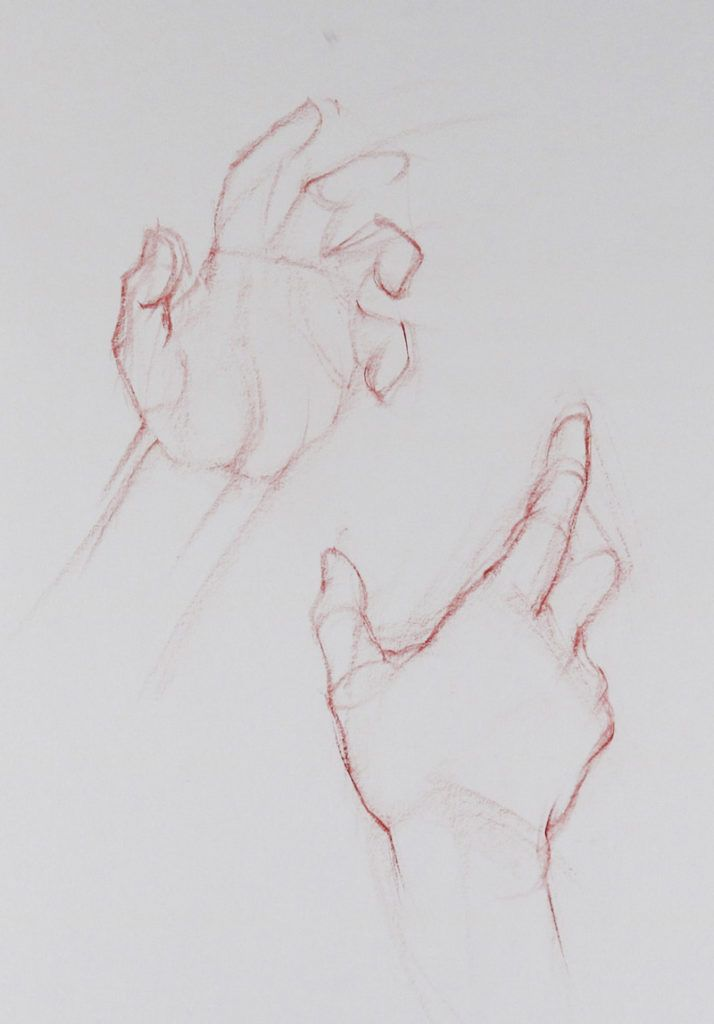 Hand drawing made simple with these essential techniques.  #drawinginspiration #figuredrawing