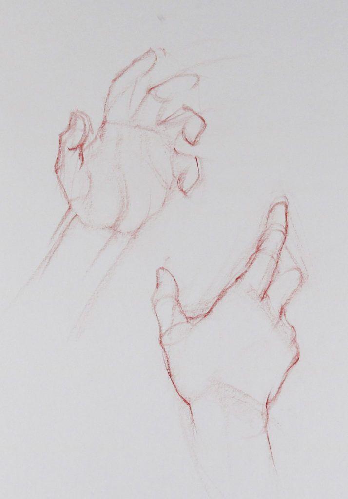Ruční kresba, Figurální kresba Techniques, Brent Eviston, umělce Network, Obrázek 2