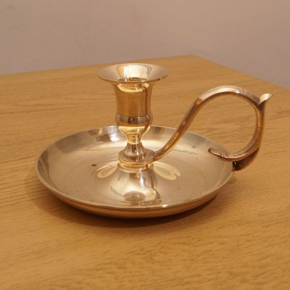 Vintage candle holder / candle stick  perfect by UKAmobile on Etsy
