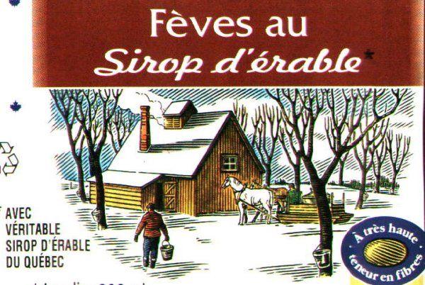 La recette de fèves au lard au sirop d'érable typiquement québécoise...
