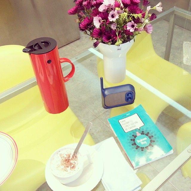 """Una bella colazione e poi mattinata domenicale dedicata alla lettura di """"Business Blog""""! Buona bomenica"""