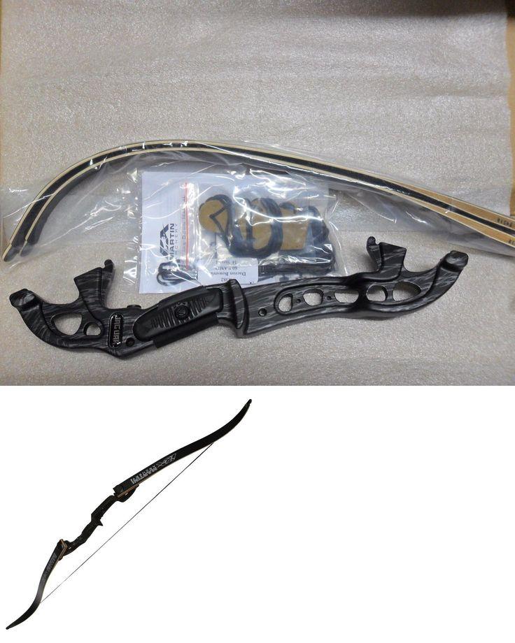 Recurve 20839: Martin Jaguar Elite Takedown Recurve Bow Fire Black Rh 45# New -> BUY IT NOW ONLY: $176 on eBay!