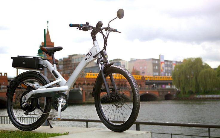 Shima City Commuter Electric Bike by A2B