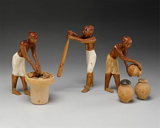 Model Bakery and Brewery from the Tomb of Meketre - ca. 1981–1975 B.C.