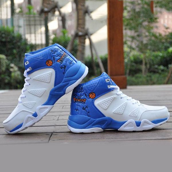 Sport Shoes Men Casual Running Outdoor Lace Up High Top Boots - US$41.99