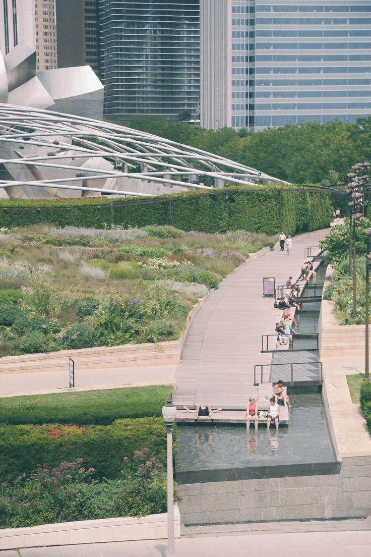 A view of Millennium Park