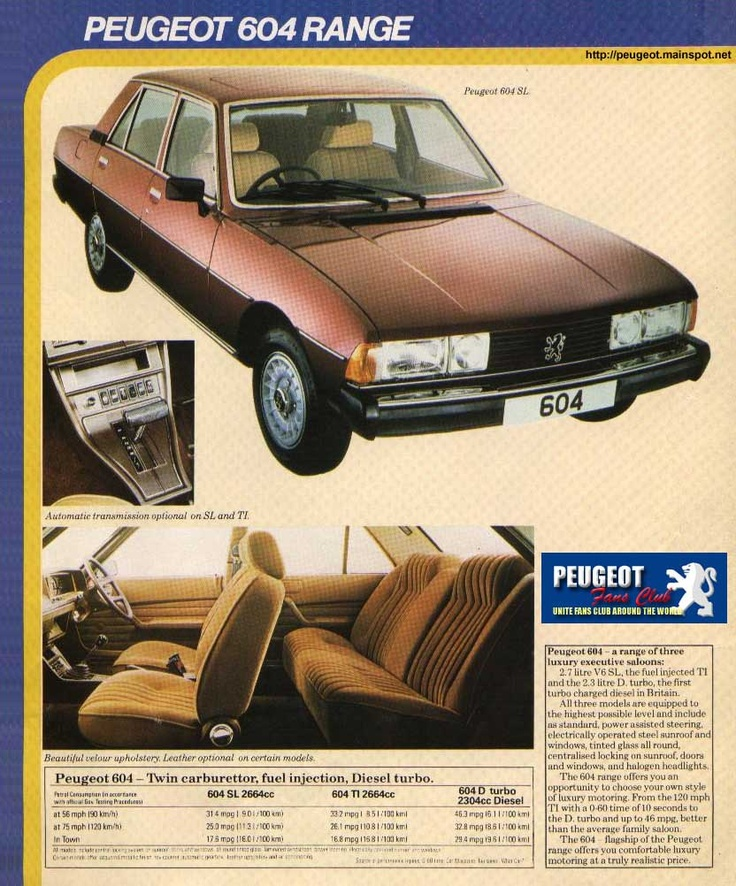 17 best 70s french cars images on pinterest cars old school cars 1977 peugeot 604 source peugeotinspot vintage autovintage carscar advertisingpeugeotcars motorcyclesroad runnerclassic publicscrutiny Choice Image