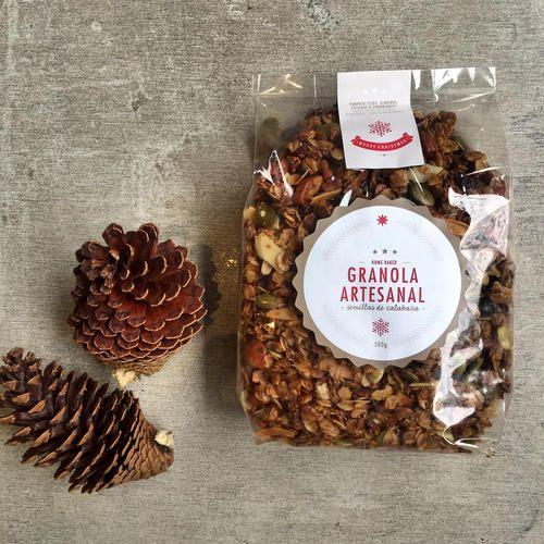 Granola Artesanal bolsa x 500 gramos. Especial de Navidad